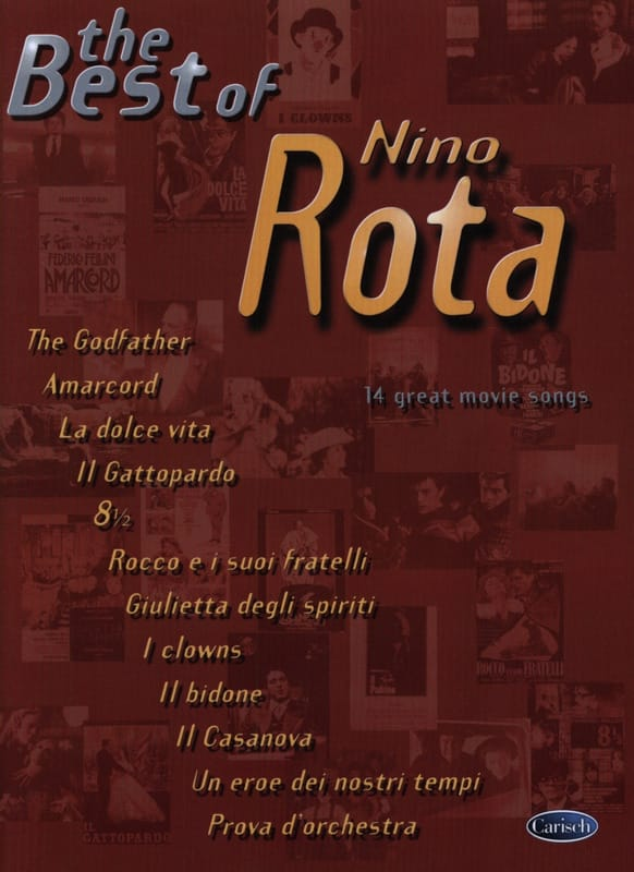 Nino Rota - The Best Of - Partition - di-arezzo.fr