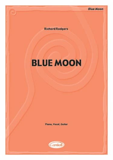 Richard Rodgers - Blue Moon - Partition - di-arezzo.co.uk