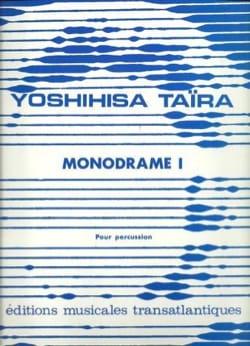 Monodrame I - Yoshihisa Taïra - Partition - laflutedepan.com