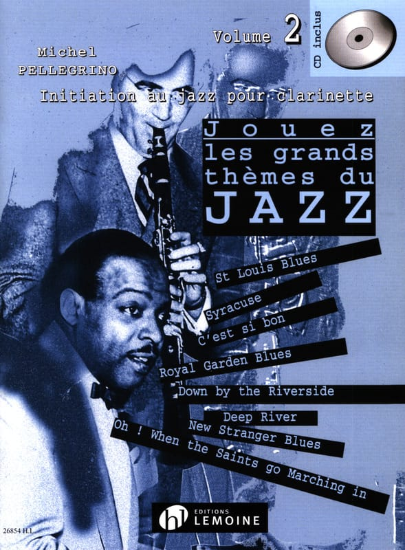 Jouez les grands thèmes du jazz volume 2 - laflutedepan.com