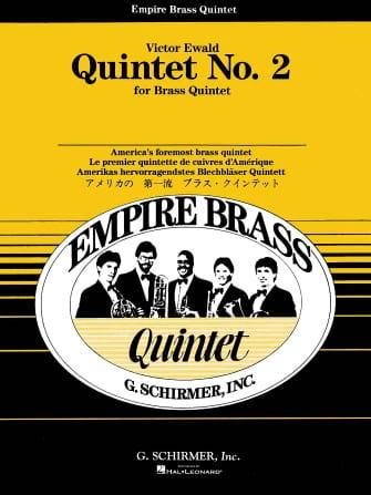 Victor Ewald - Quintet N ° 2 In Eb Opus 6 - Partition - di-arezzo.com