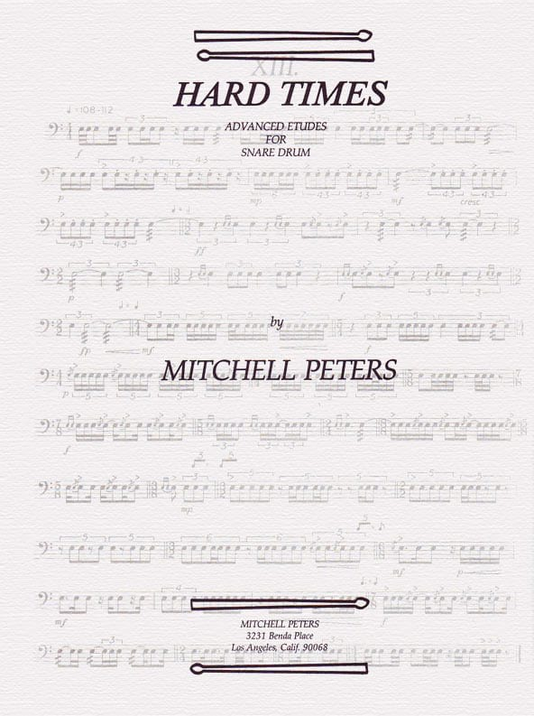Mitchell Peters - Hard Times - Partition - di-arezzo.co.uk
