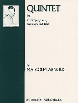Quintet Parties - Malcolm Arnold - Partition - laflutedepan.com