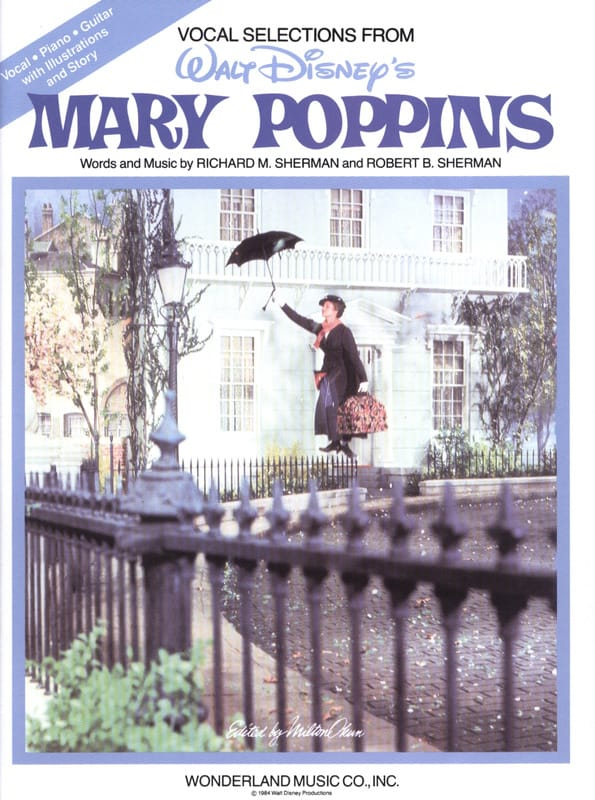 DISNEY - Mary Poppins - Vocal Selections - Partition - di-arezzo.com