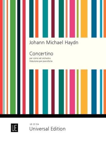 Michael Haydn - Concertino Per Corno Ed Orchestra - Partition - di-arezzo.fr