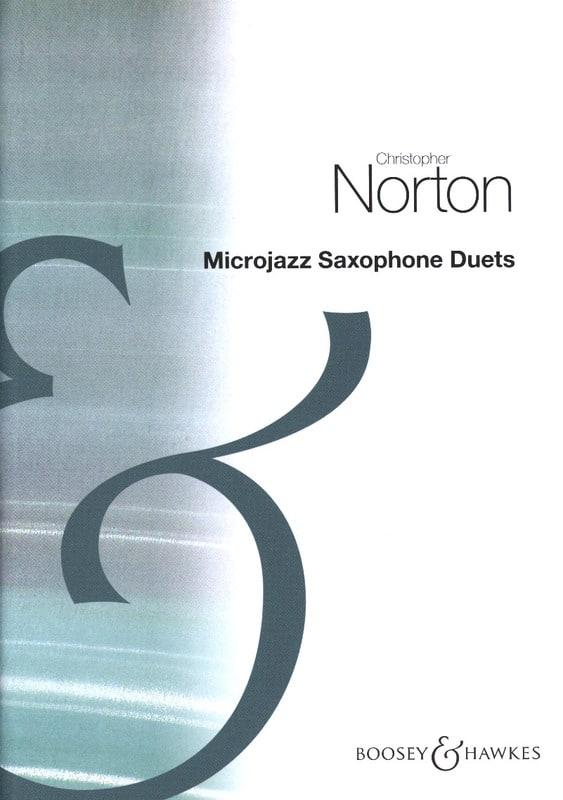 MicroJazz Saxophone Duets - Christopher Norton - laflutedepan.com