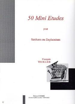 50 Mini Etudes - François Thuillier - Partition - laflutedepan.com