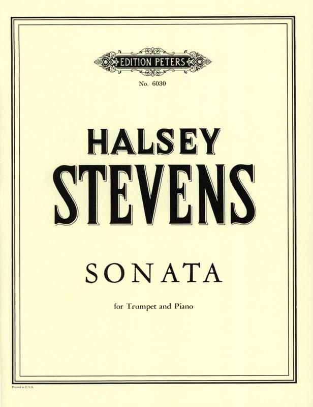Halsey Stevens - Sonata - Partition - di-arezzo.com