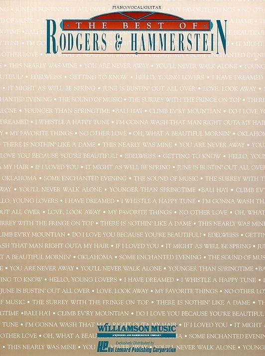Rodgers & Hammerstein - The Best Of - Partition - di-arezzo.co.uk