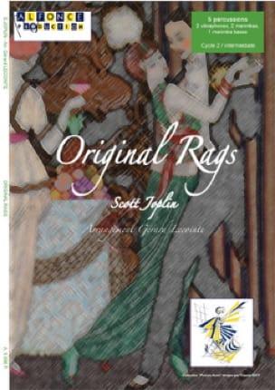 Original Rags - Scott Joplin - Partition - laflutedepan.com