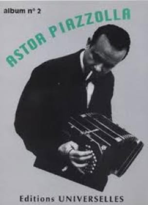 Astor Piazzolla - Album N ° 2 - Partition - di-arezzo.co.uk