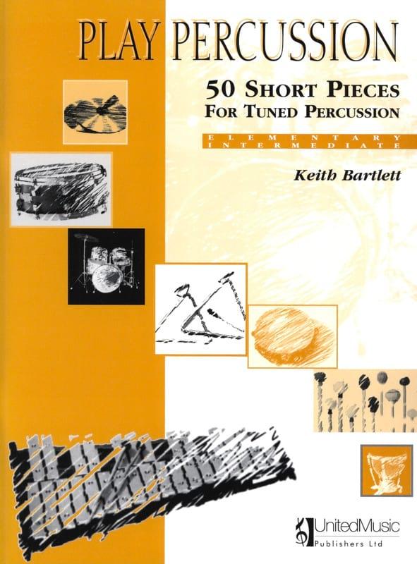 50 Short Pieces For Tuned Percussion - Elementary / Intermediate - laflutedepan.com