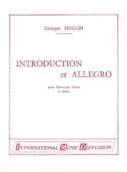 Introduction Et Allegro - Georges Hugon - Partition - laflutedepan.com