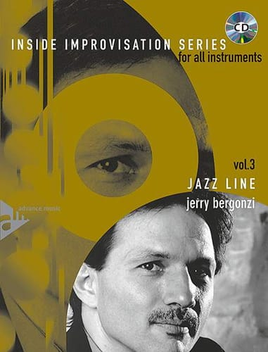 Jerry Bergonzi - Volume 3 - Jazz Line - Partition - di-arezzo.co.uk