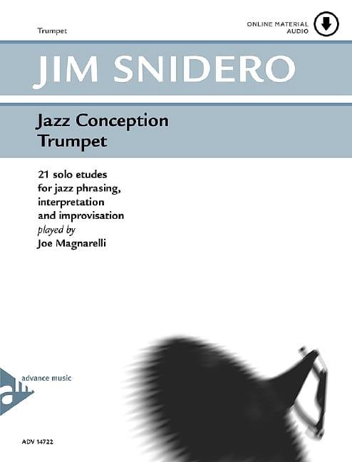 Jim Snidero - Jazz design - 21 solo studies - Partition - di-arezzo.com