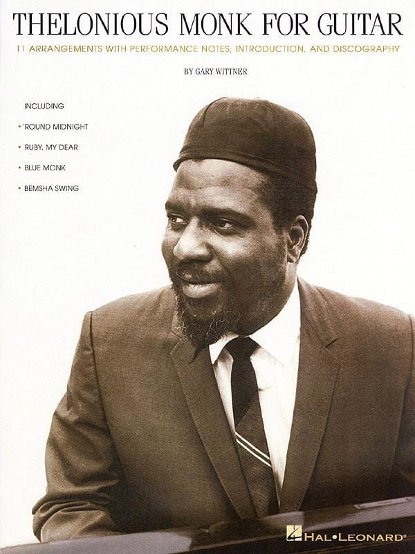Thelonious Monk - Thelonious Monk For Guitar - Partition - di-arezzo.co.uk