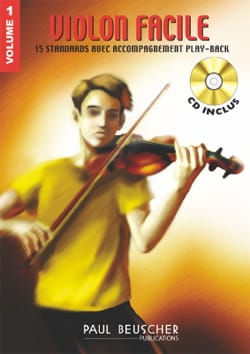 Violon Facile Volume 1 - Partition - Violon - laflutedepan.com