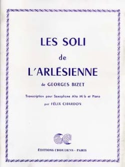 BIZET - The Soli of L'Arlésienne - Partition - di-arezzo.co.uk