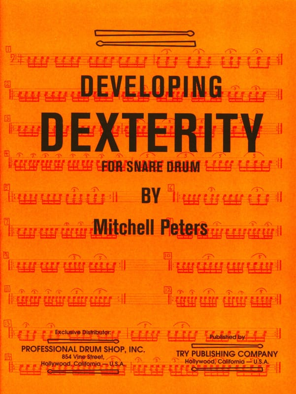 Developing Dexterity - Mitchell Peters - Partition - laflutedepan.com