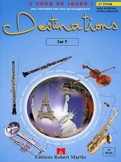 Destinations - Bodenes A. / Naulais J. - Partition - laflutedepan.com