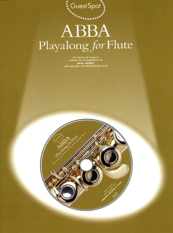 ABBA - Guest Spot - Abba Playalong For Flute - Partition - di-arezzo.com
