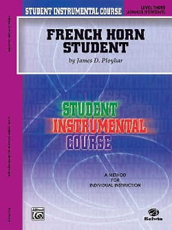 James Ployhar - French Horn Student Volume 3 - Partition - di-arezzo.com