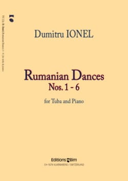 Dumitru Ionel - Rumanian Dances # 1-6 - Partition - di-arezzo.com