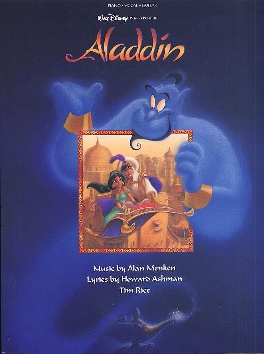 DISNEY - Aladdin - Partition - di-arezzo.co.uk