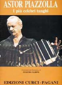 Astor Piazzolla - 私はPiu Celebri Tanghi。ピアノ - Partition - di-arezzo.jp