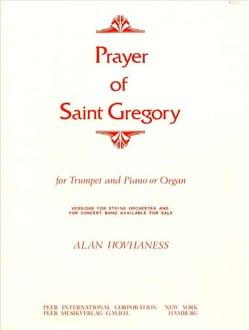 Prayer Of Saint Gregory - Alan Hovhaness - laflutedepan.com
