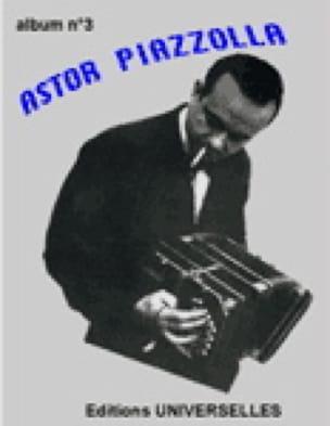 Album N° 3 - Astor Piazzolla - Partition - laflutedepan.com