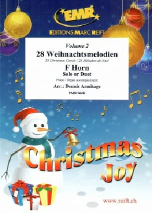 Christmas Joy Volume 2 - Noël - Partition - Cor - laflutedepan.com