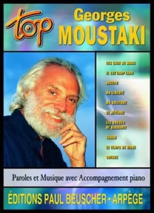 Georges Moustaki - Top Georges Moustaki - Partition - di-arezzo.co.uk