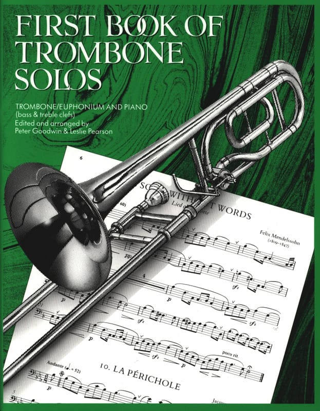 First Book Of Trombone Solos - Partition - laflutedepan.com