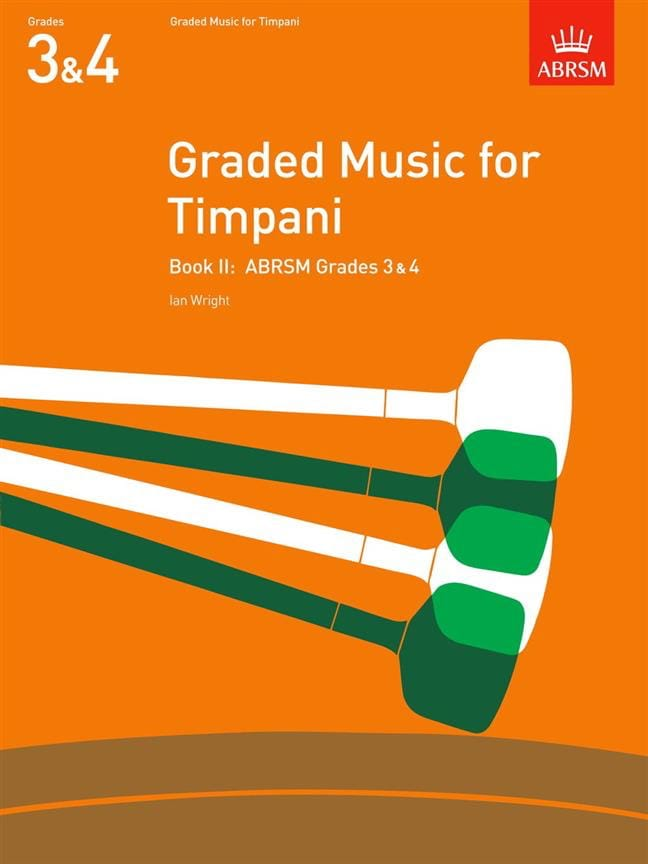 Graded Music For Timpani Volume 2 - Ian Wright - laflutedepan.com