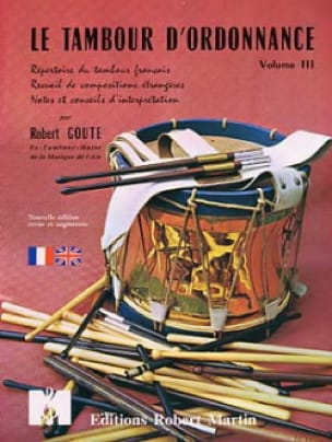 Robert Goute - Drum of Prescription Volume 3 - Partition - di-arezzo.co.uk