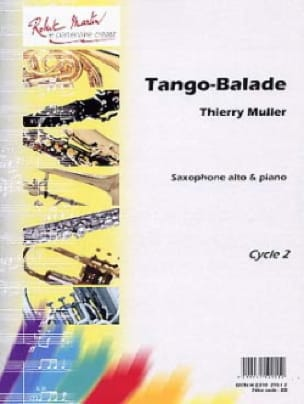 Thierry Muller - Tango-Ballade - Partition - di-arezzo.fr
