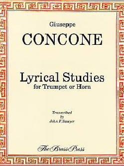 Lyrical Studies - Giuseppe Concone - Partition - laflutedepan.com