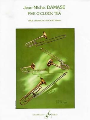 Jean-Michel Damase - Five O'clock Tea - Partition - di-arezzo.com