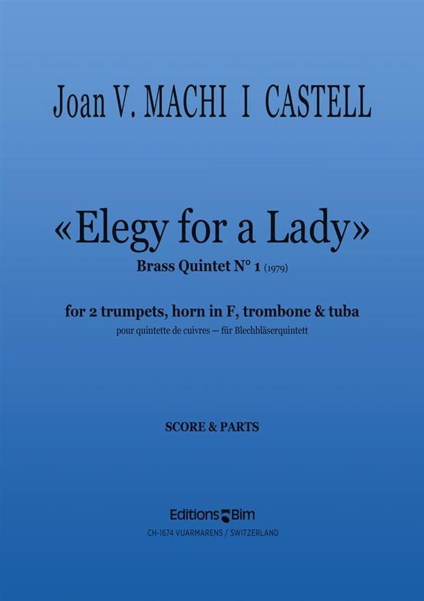 Elegy For A Lady - I Castell Joan Vincent Machi - laflutedepan.com