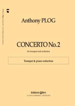 Concerto N° 2 - Anthony Plog - Partition - laflutedepan.com