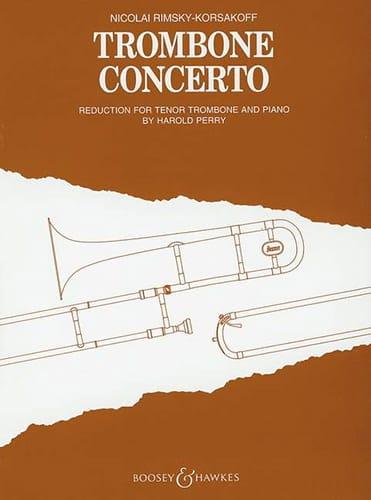 Nicolai Rimsky Korsakov - Concerto Trombone - Partition - di-arezzo.com
