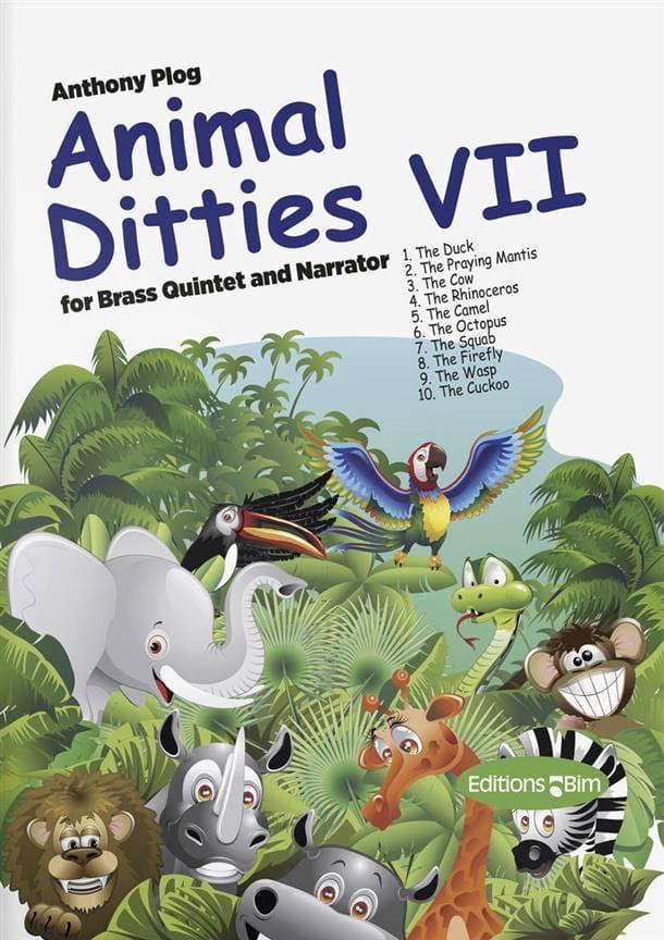 Anthony Plog - Animal Ditties VII - Partition - di-arezzo.com