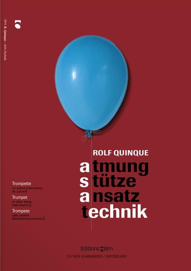 Rolf Quinque - Asa Technik - Partition - di-arezzo.es