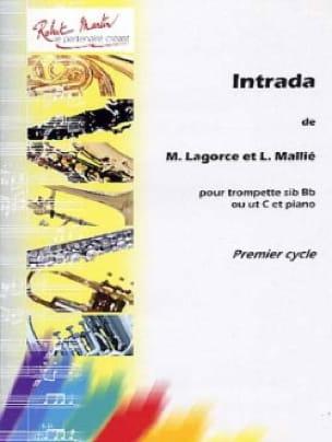 Intrada - Lagorce Marcel / Mallié Loïc - Partition - laflutedepan.com