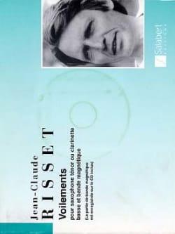 Voilements - Jean-Claude Risset - Partition - laflutedepan.com