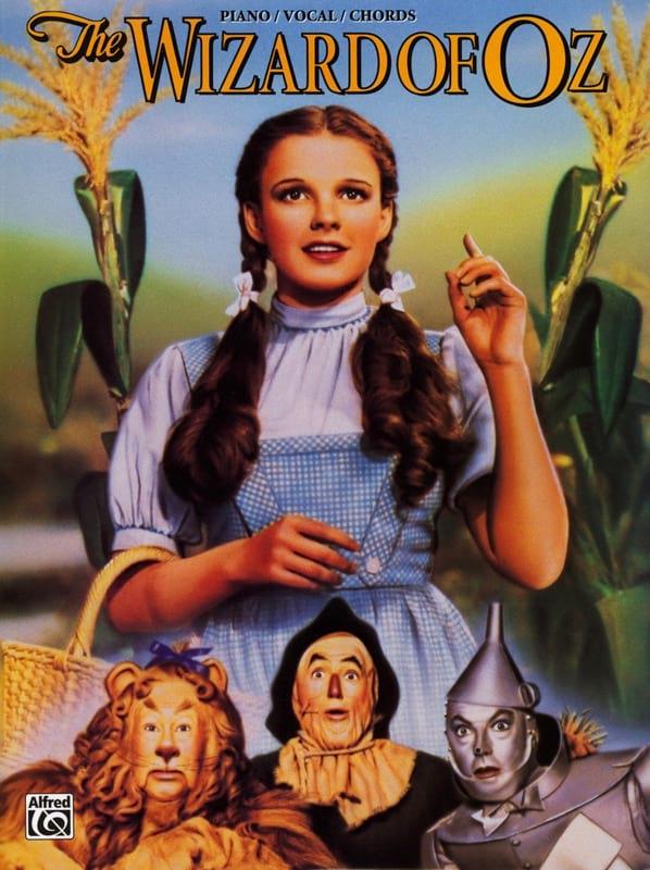 Harold Arlen - The Wizard Of Oz - Partition - di-arezzo.fr