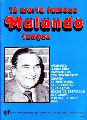 A. Malando - 12 World Famous Malando Tangos - Partition - di-arezzo.co.uk
