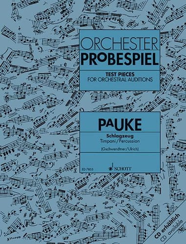 - Orchester Probespiel Pauke - Partition - di-arezzo.co.uk