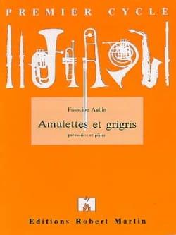 Amulettes et grigris - Francine Aubin - Partition - laflutedepan.com